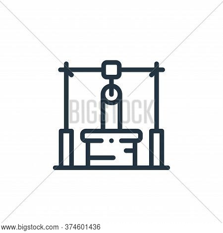water well icon isolated on white background from in the village collection. water well icon trendy