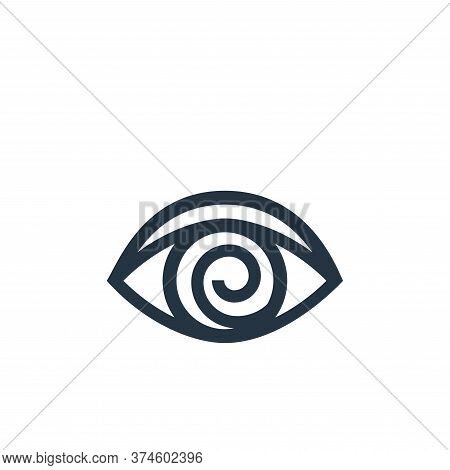 hypnosis icon isolated on white background from alternative medicine collection. hypnosis icon trend