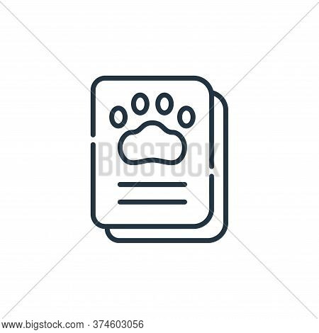 vaccination icon isolated on white background from animal welfare collection. vaccination icon trend