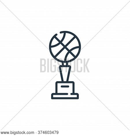 trophy icon isolated on white background from fame collection. trophy icon trendy and modern trophy
