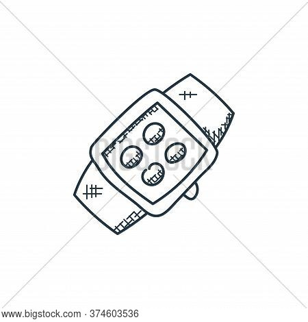 smartwatch icon isolated on white background from technology collection. smartwatch icon trendy and