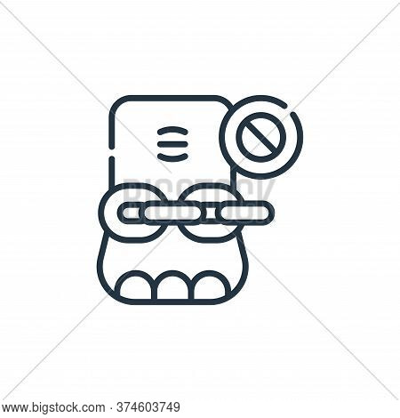 elephant icon isolated on white background from animal welfare collection. elephant icon trendy and