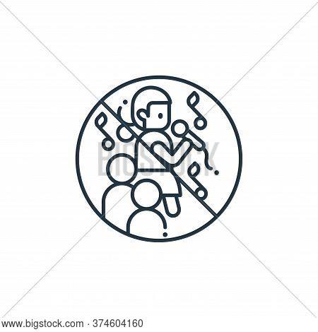 parties icon isolated on white background from coronavirus collection. parties icon trendy and moder