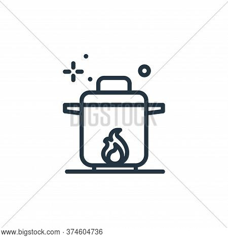 boil icon isolated on white background from coronavirus collection. boil icon trendy and modern boil