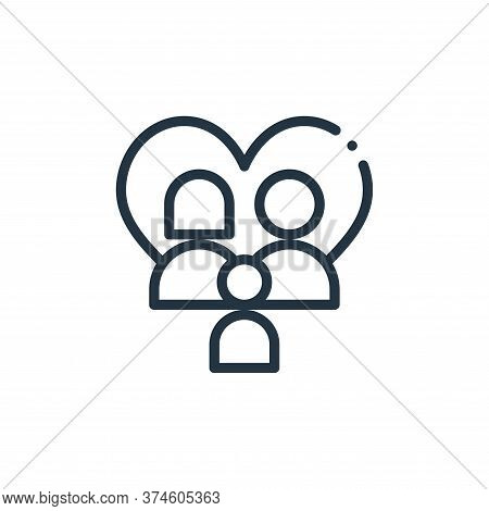 family icon isolated on white background from world love collection. family icon trendy and modern f