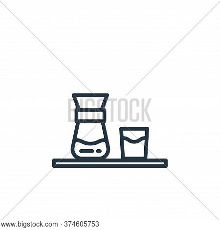 coffee icon isolated on white background from stay at home collection. coffee icon trendy and modern