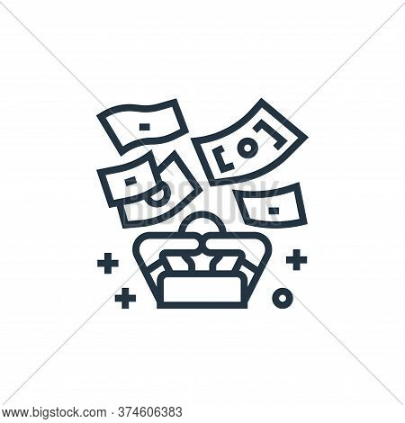 rich icon isolated on white background from economic crisis collection. rich icon trendy and modern