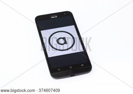 Kouvola, Finland - 23 January 2020: Asos App Logo On The Screen Of Smartphone Asus
