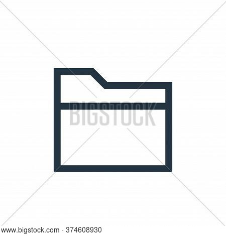 file icon isolated on white background from web essentials collection. file icon trendy and modern f