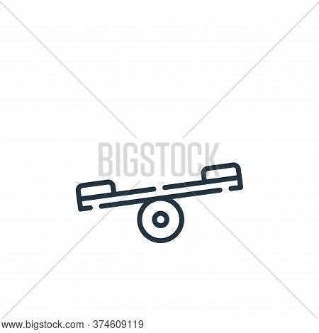 balancer icon isolated on white background from circus collection. balancer icon trendy and modern b