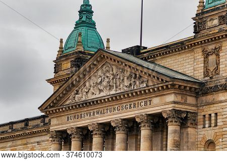 Leipzig / Germany - February 24, 2017: The Federal Administrative Court (bundesverwaltungsgericht) I