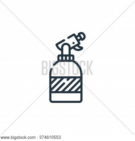 spray icon isolated on white background from hairdressing and barber shop collection. spray icon tre