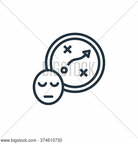 planning icon isolated on white background from work life balance collection. planning icon trendy a
