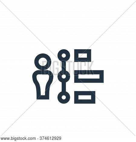 network icon isolated on white background from management collection. network icon trendy and modern
