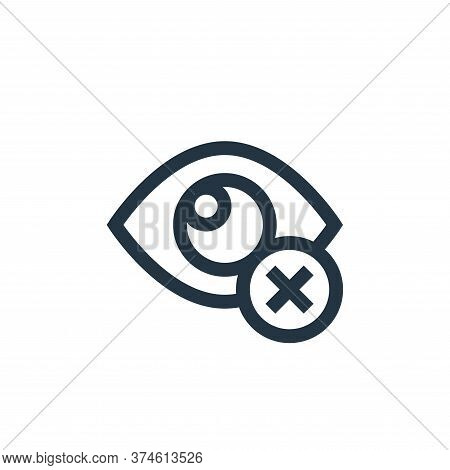 closed eyes icon isolated on white background from ramadan collection. closed eyes icon trendy and m