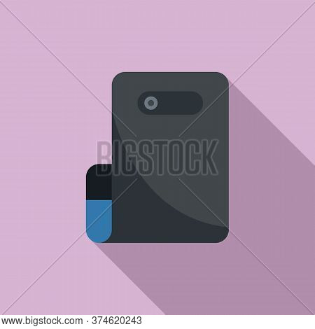 Flex Display Icon. Flat Illustration Of Flex Display Vector Icon For Web Design