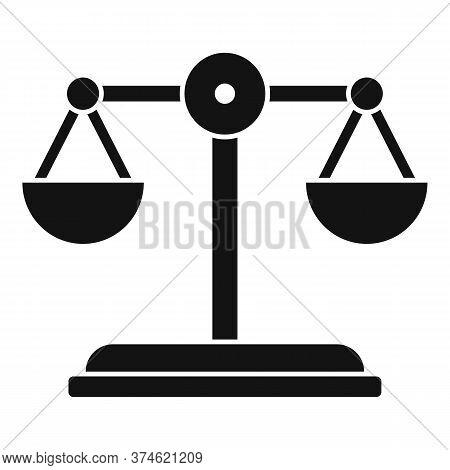 Divorce Mediation Balance Icon. Simple Illustration Of Divorce Mediation Balance Vector Icon For Web