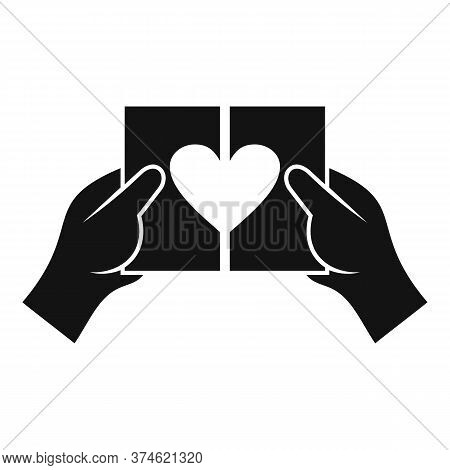 Relationship Divorce Icon. Simple Illustration Of Relationship Divorce Vector Icon For Web Design Is