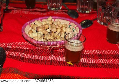 Some Berber Food In Sahara Desert, Algeria