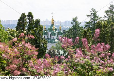 Vydubychi Monastery In Kyiv