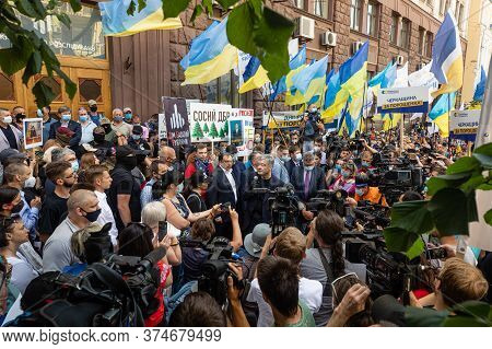 Rally Against Political Persecution In Ukraine