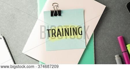 Business Training Concept Banner, Training For Learn, Skill, Productivity, Capacity Building, Knowle