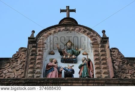 Cusco Cathedral Or Cathedral Basilica Of The Assumption Of The Blessed Virgin Mary Is The Main Relig