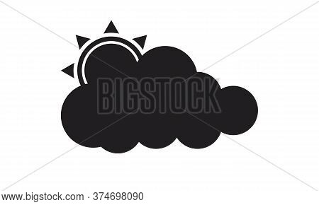 Cloud Icon. Cloud Icon Art. Cloud Icon Picture.icon Clude Black