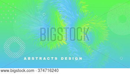 Graphic Fluid. Flow Abstract Concept. Color Futuristic Flyer. Music Motion. Wave Graphic Fluid. Vibr