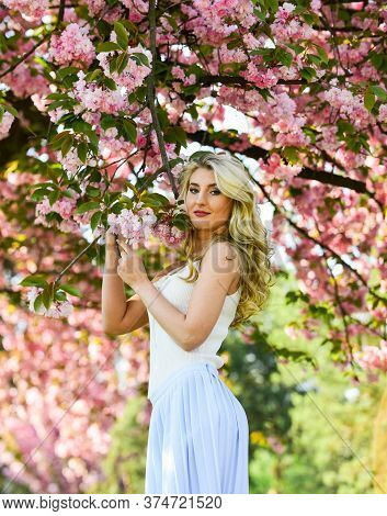 Harmony Esoterics And Female Energy. Spring Symbol. Reasons Why Flowers Always Make Women Happy. Hap