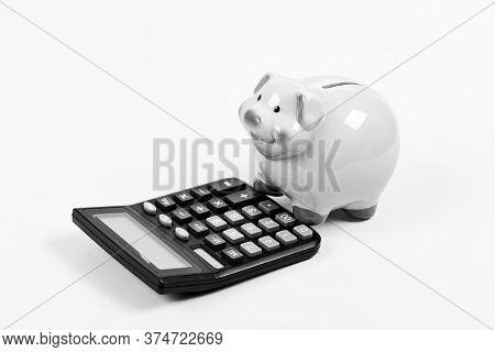 Economics And Profit Management. Economics And Finance. Economics And Business Administration. Piggy