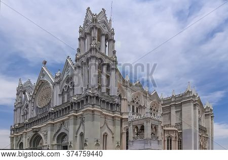 The Expiatory Temple Of The Sacred Heart Of Jesus, Construction Began In 1921 And Was Completed In 2