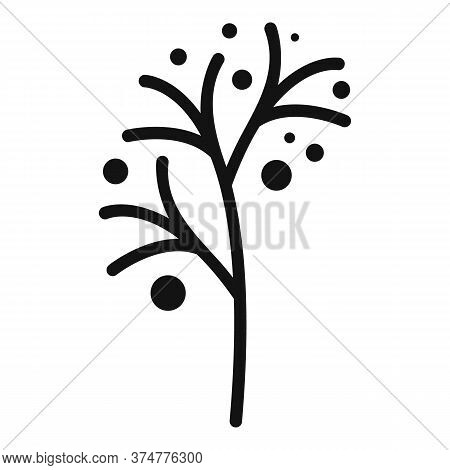 Plant Herbs Icon. Simple Illustration Of Plant Herbs Vector Icon For Web Design Isolated On White Ba