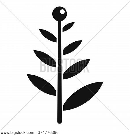 Aroma Plant Herb Icon. Simple Illustration Of Aroma Plant Herb Vector Icon For Web Design Isolated O