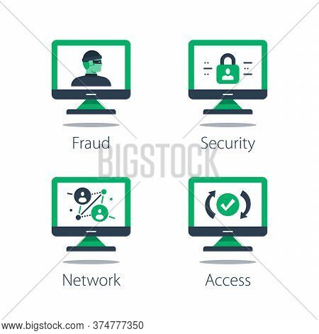 Network Security System, Online Safety, Strong Protection, Web Server Vulnerability, Software Soluti