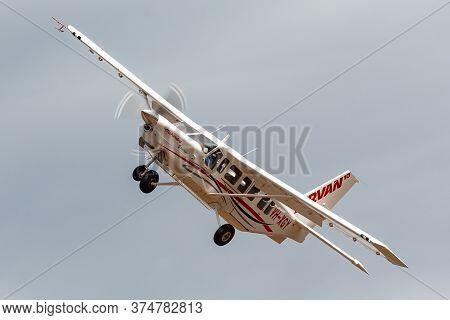 Avalon, Australia - February 28, 2015: Mahindra Aerospace (gippsland Aeronautics) Ga10 Airvan Vh-xgy