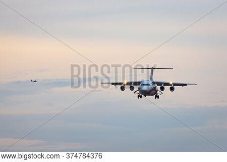 Avalon, Australia - February 27, 2015: Coulson Aviation Bae Systems 146 (avro Rj85) Aerial Fire Figh