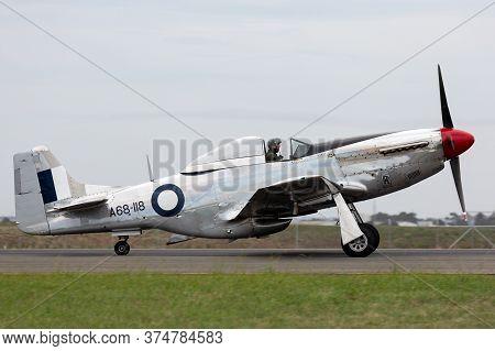 Avalon, Australia - February 27, 2015: Former Royal Australian Air Force (raaf) Commonwealth Aircraf
