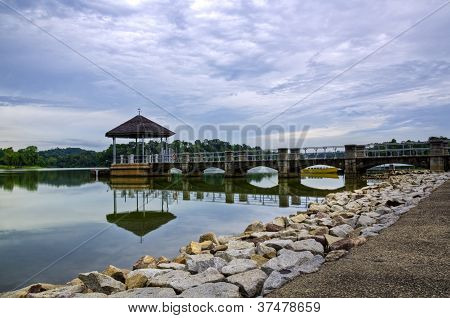Lower Peirce Reservoir in Singapore