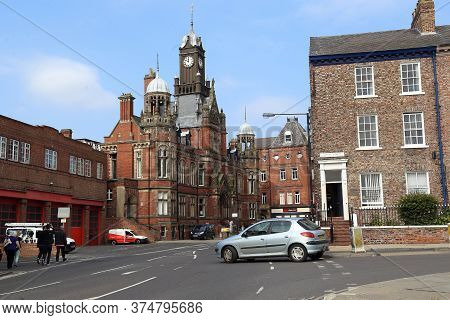 York, Great Britain - September 9, 2014: This Is A Historic Victorian York & Selby Magistrates Court
