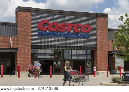 Florence - Circa July 2020: Costco Wholesale Location. Costco Wholesale Is A Multi-billion Dollar Gl