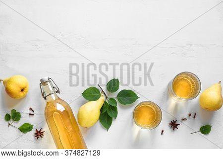 Pear Cider Drink