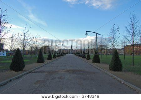 Glasgow Green Path