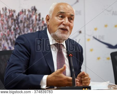 Bucharest, Romania - July 02, 2020: Varujan Vosganian, Vice President Of Liberal Democrat Alliance (