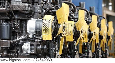 Details And Units Of Vehicle Engines And Diesel Engines. Vehicle Engines, Diesel Engines, Internal C