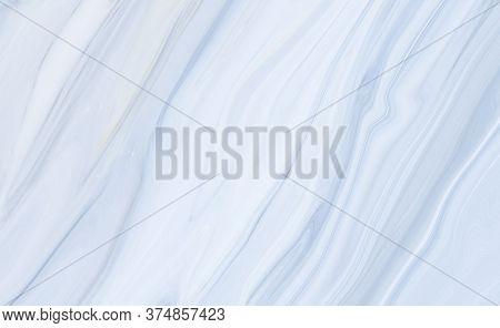 Marble Rock Texture Blue Ink Pattern Liquid Swirl Paint White Dark That Is Illustration Background F