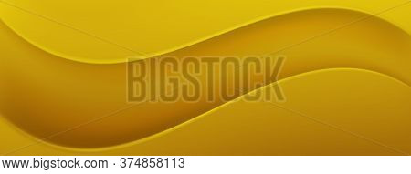 Abstract Background In Yellow Colors. Vector Illustration