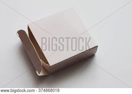 Small Pink Box Mockup. Box Mockup For Product Presentation