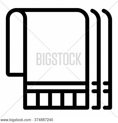 Wall Insulation Icon. Outline Wall Insulation Vector Icon For Web Design Isolated On White Backgroun