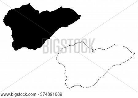 Porto Novo Municipality (republic Of Cabo Verde, Concelhos, Cape Verde, Santo Antao Island, Archipel